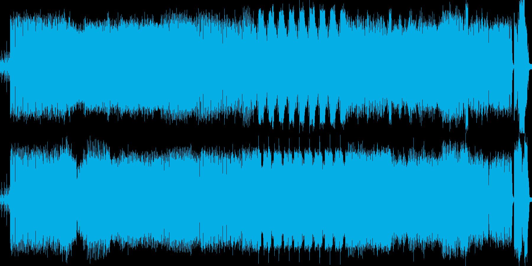 EDM かっこいいです!!!の再生済みの波形