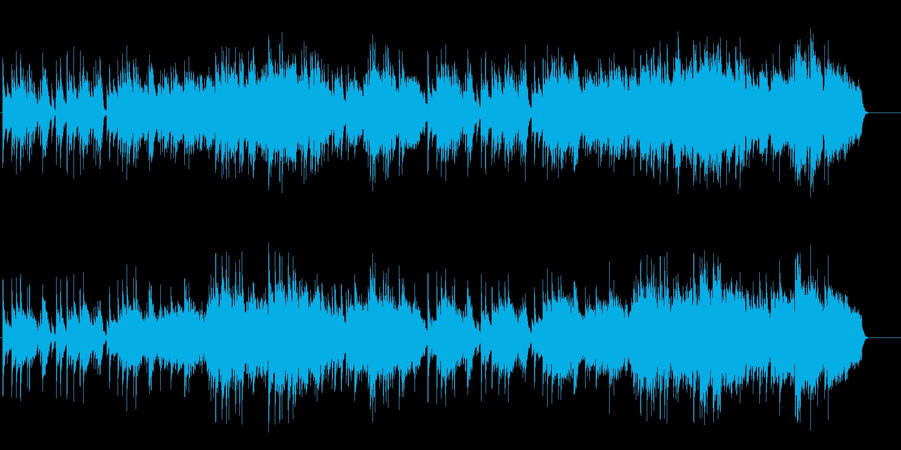 朝の安らぎのアコースティック/バラードの再生済みの波形