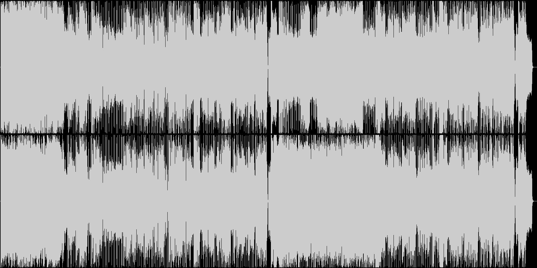 感動的なシーンに合うロックバラードの未再生の波形