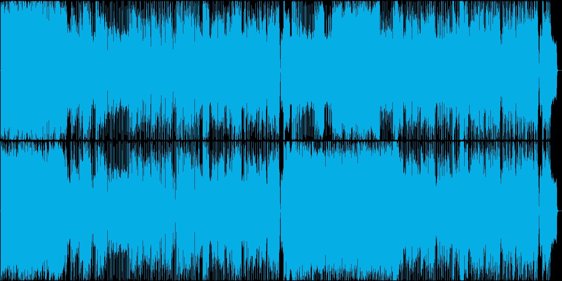 感動的なシーンに合うロックバラードの再生済みの波形