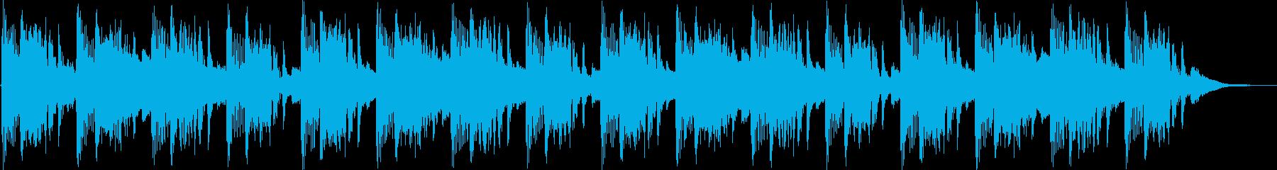シンプルなドラムンベースの再生済みの波形
