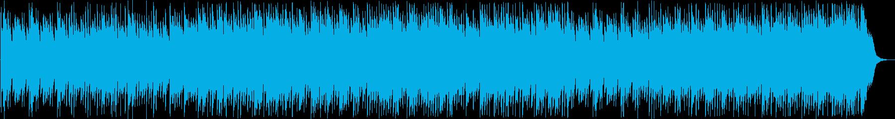 美しいピアノサウンドの再生済みの波形
