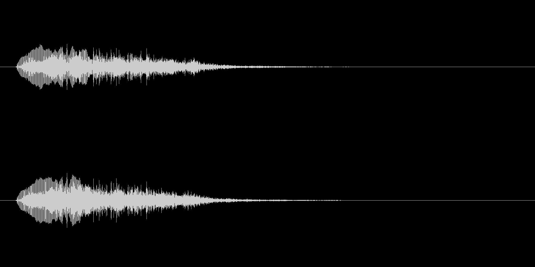 「トランペットでコミカルな音」の未再生の波形