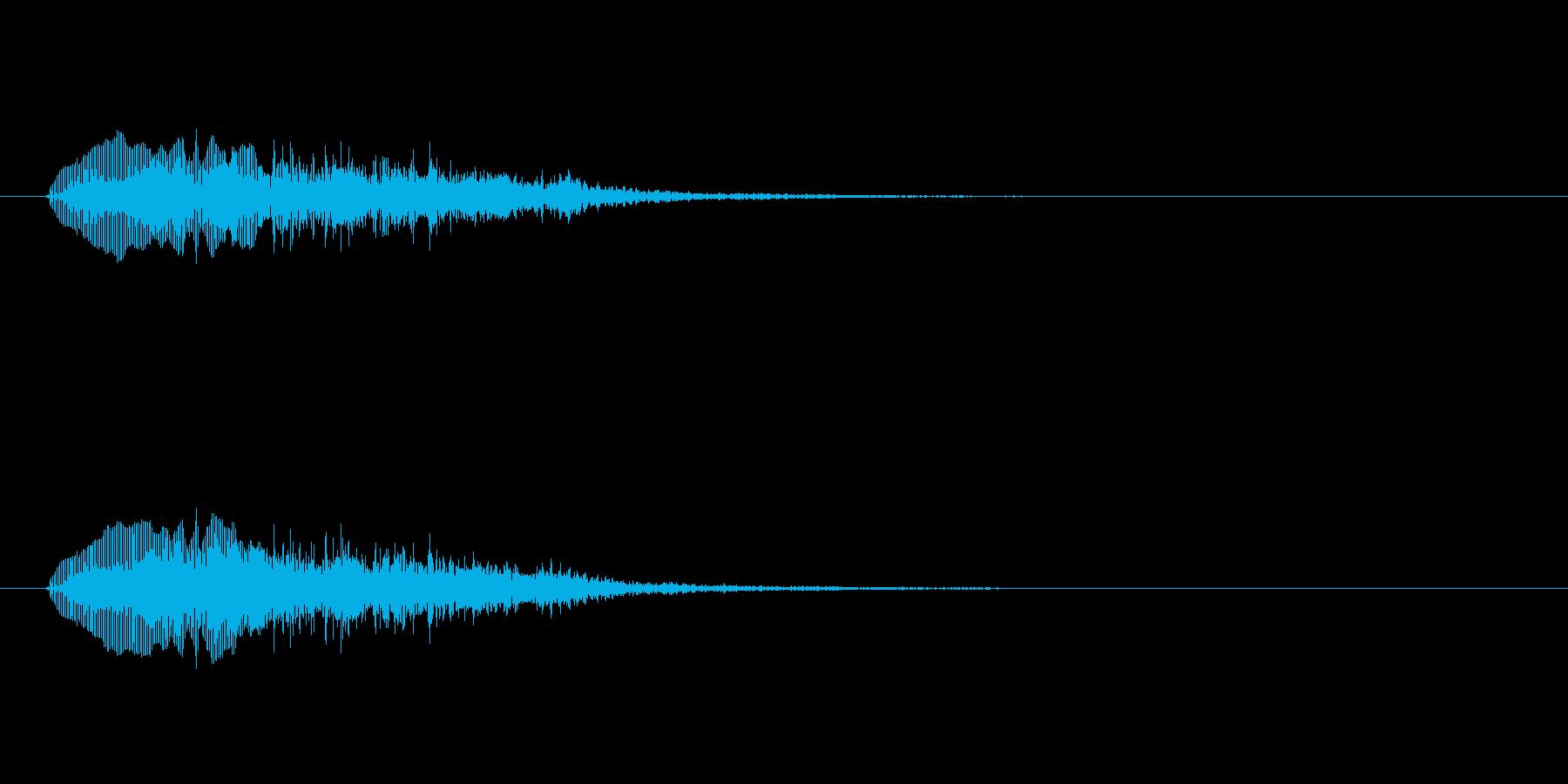 「トランペットでコミカルな音」の再生済みの波形