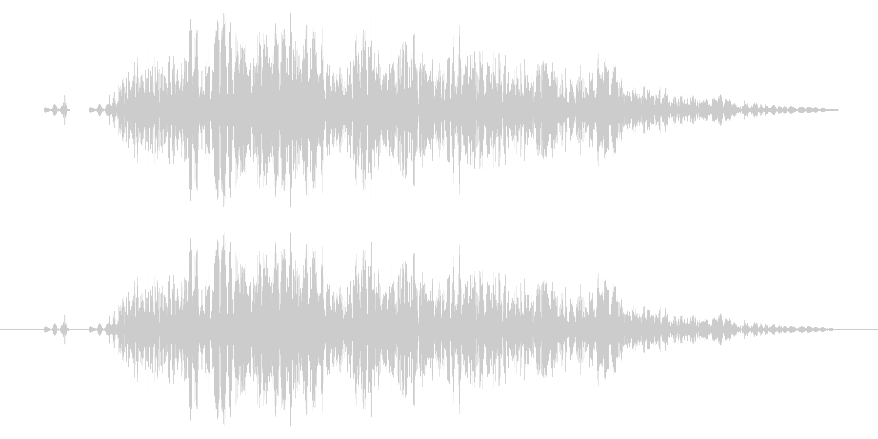【打撃音14】パンチやキックに最適です!の未再生の波形