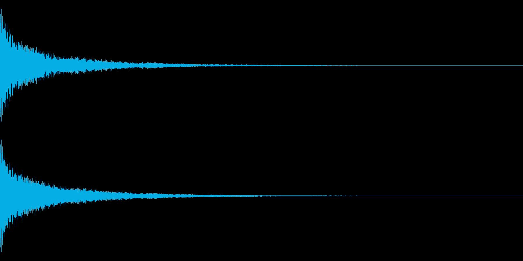 ティーン(金属系)の再生済みの波形