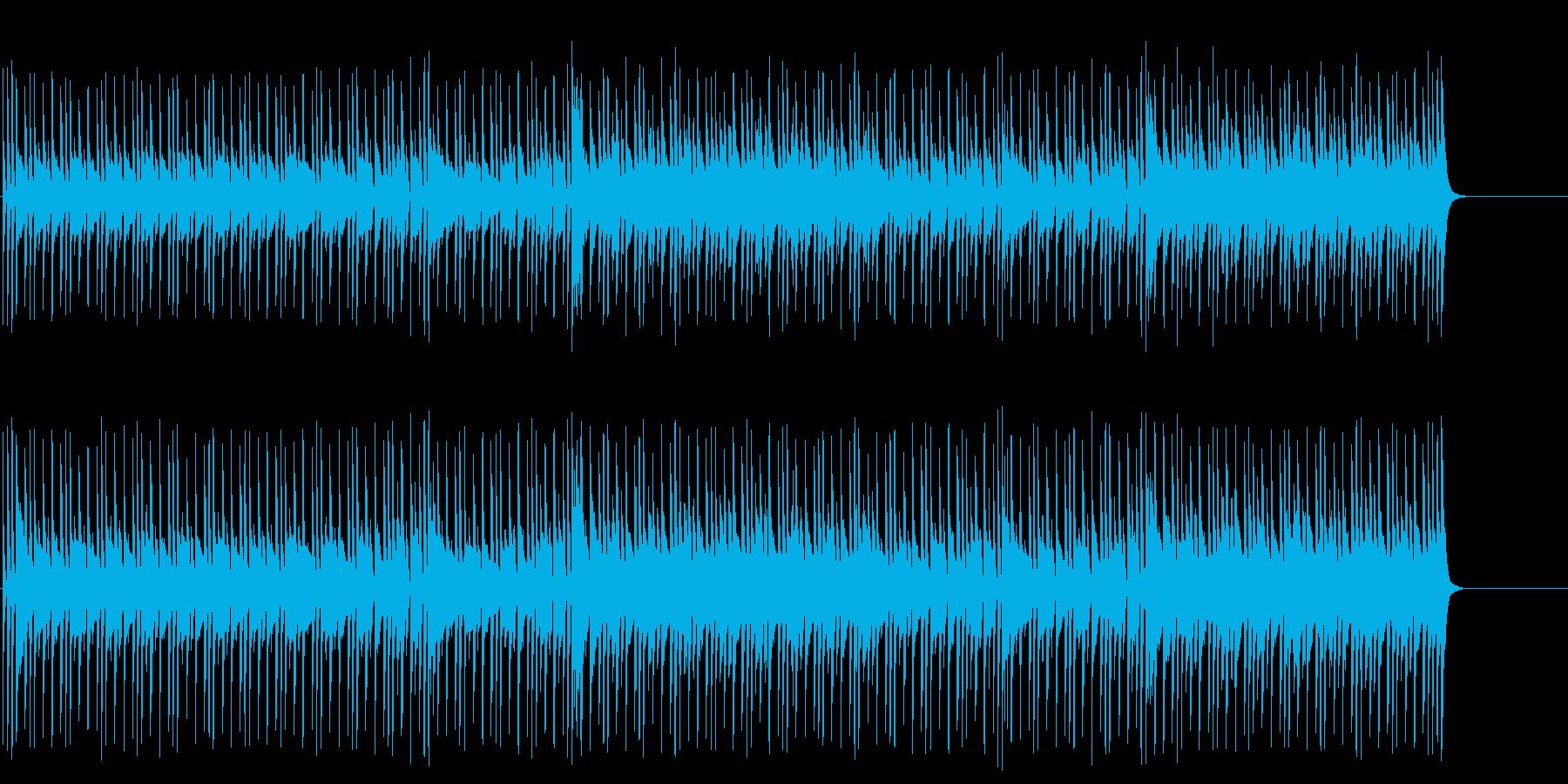 軽さのあるマイナー・テクノ・ポップ/BGの再生済みの波形