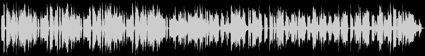 本物サックスで明るいゲーム音楽のような曲の未再生の波形