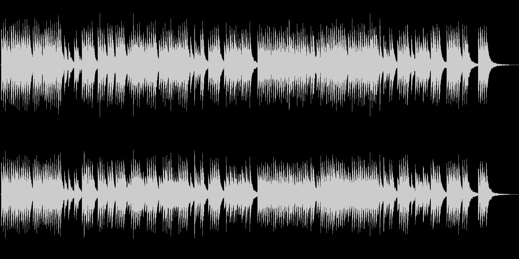 サラスポンダのオルゴールの未再生の波形