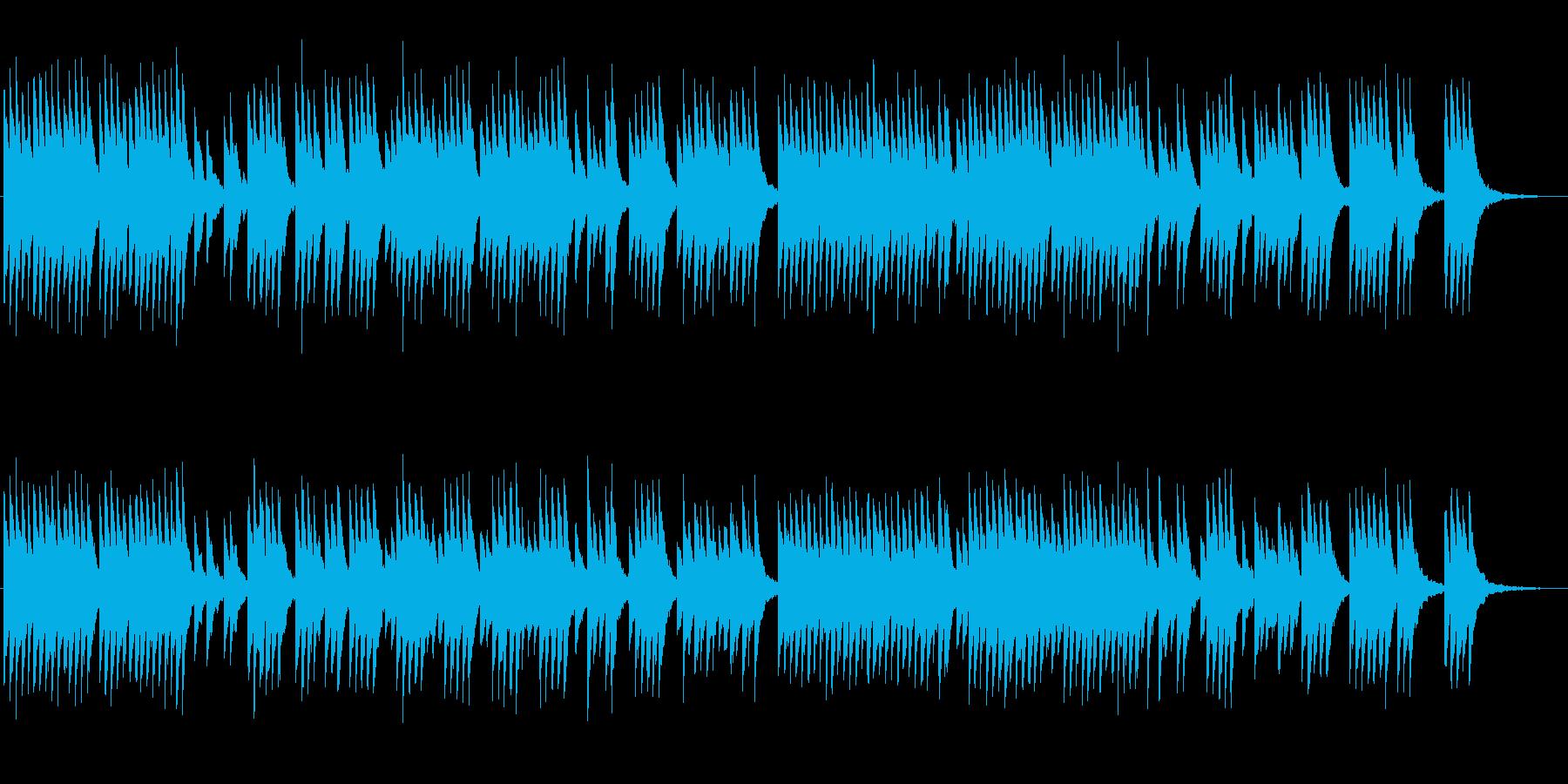 サラスポンダのオルゴールの再生済みの波形