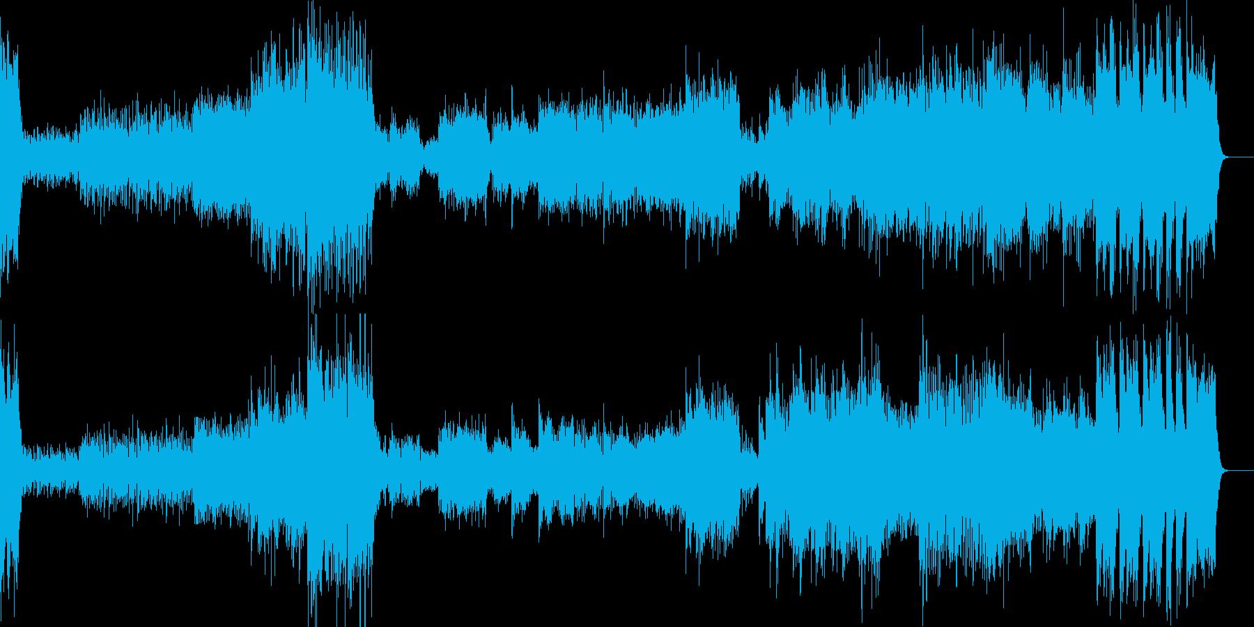 ヒンデミット シンフォニックダンスよりの再生済みの波形