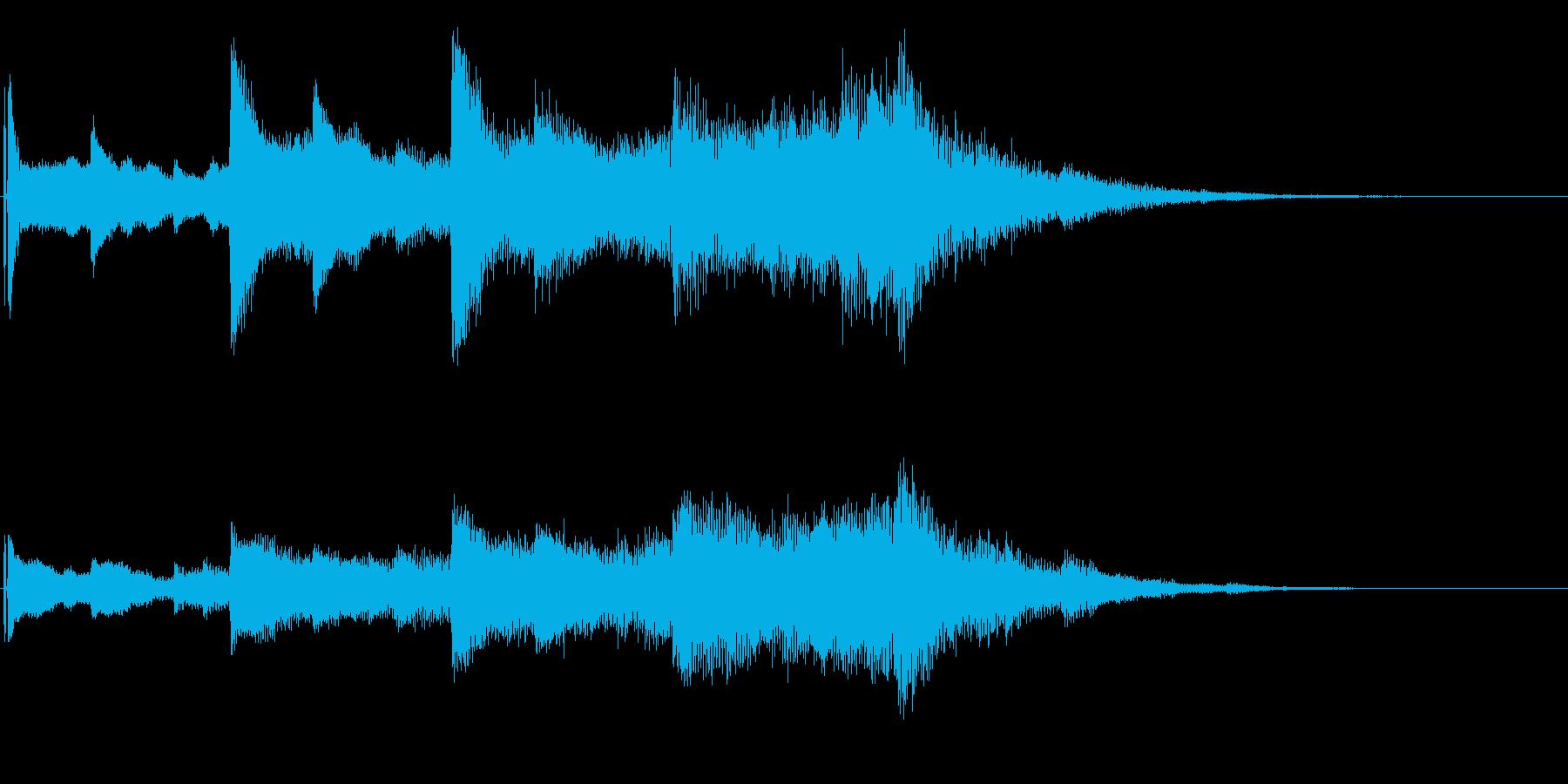オープニング用ジングル80/ロングの再生済みの波形