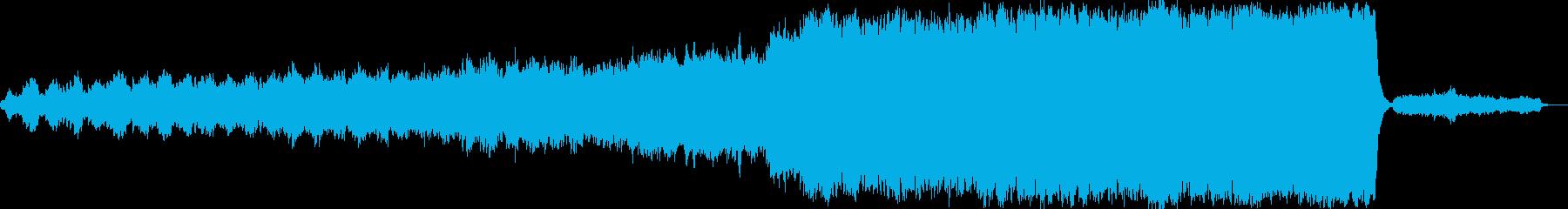 イギリスのクリスマスキャロルの再生済みの波形