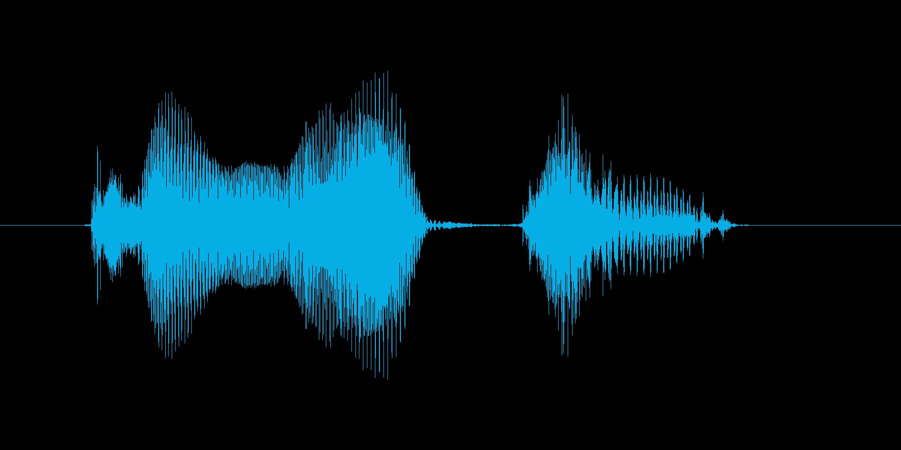 9月(9月)の再生済みの波形