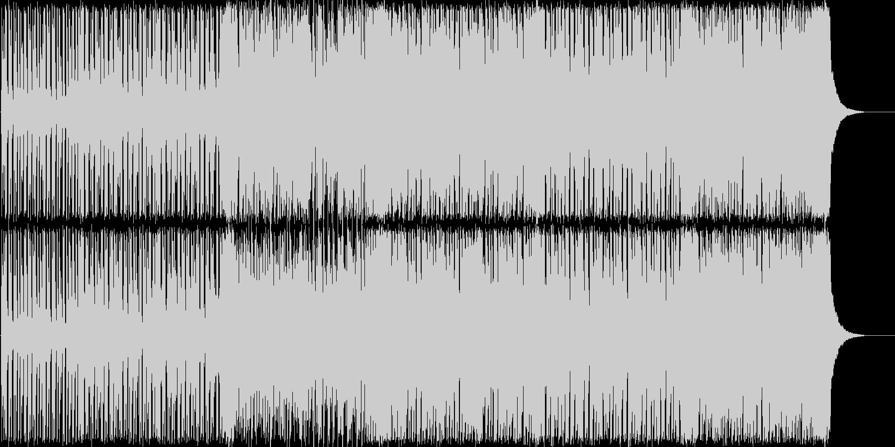 ポップで明るいBGMですの未再生の波形