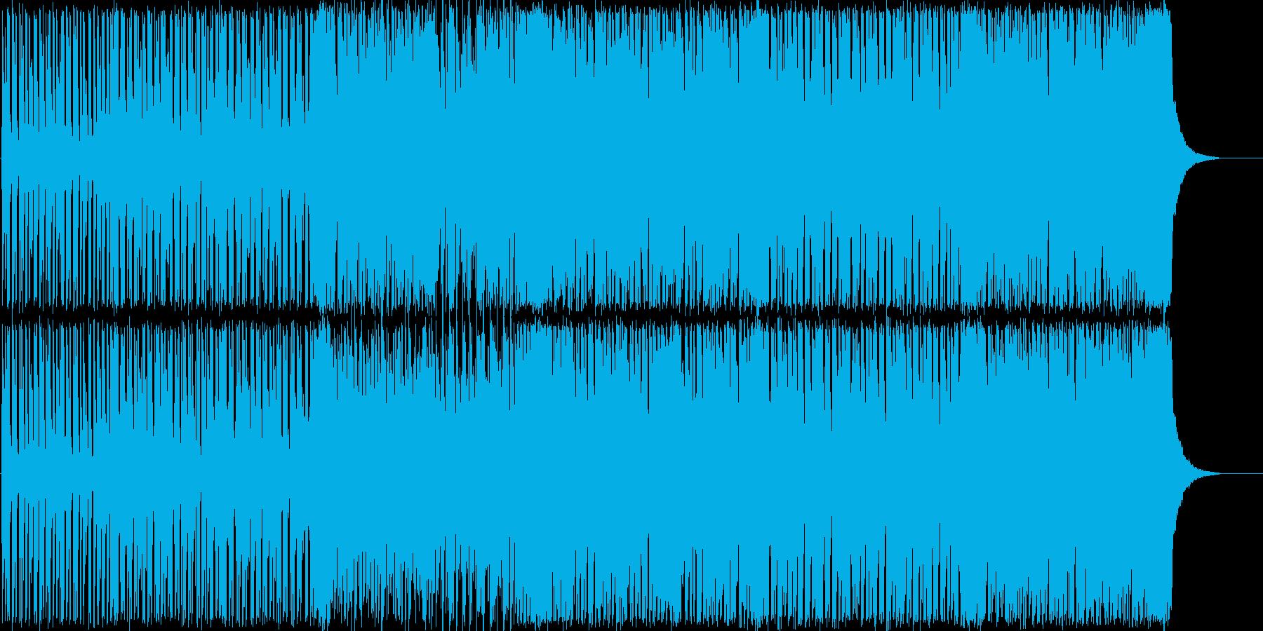 ポップで明るいBGMですの再生済みの波形