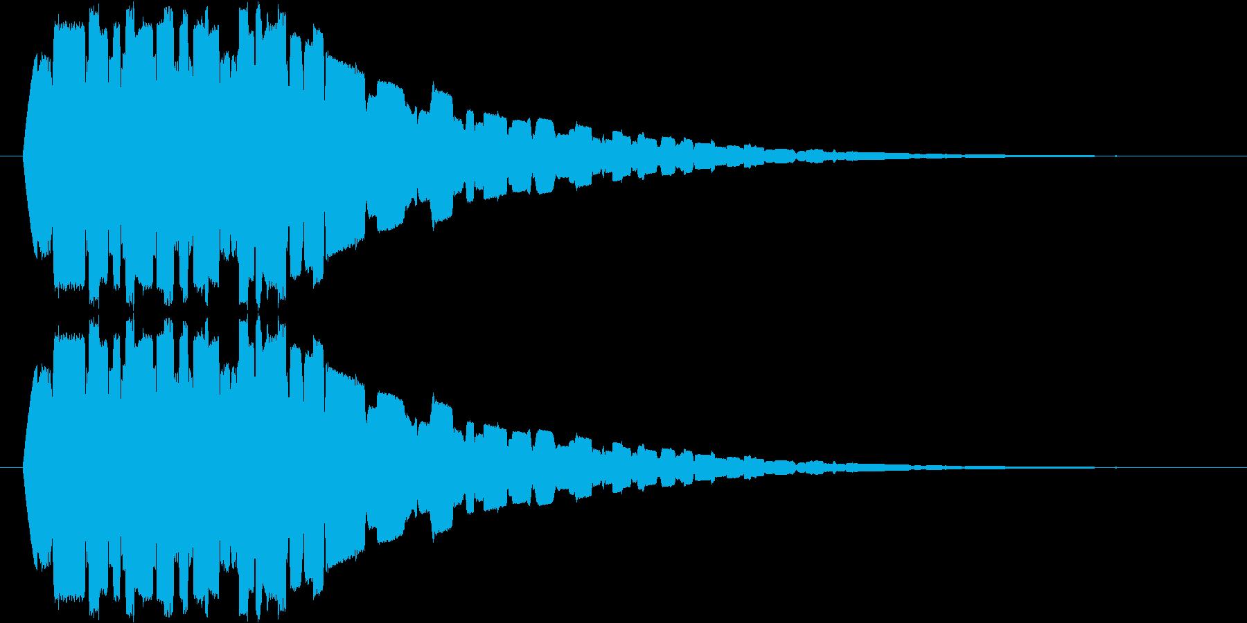 フワフワフワ・・・の再生済みの波形