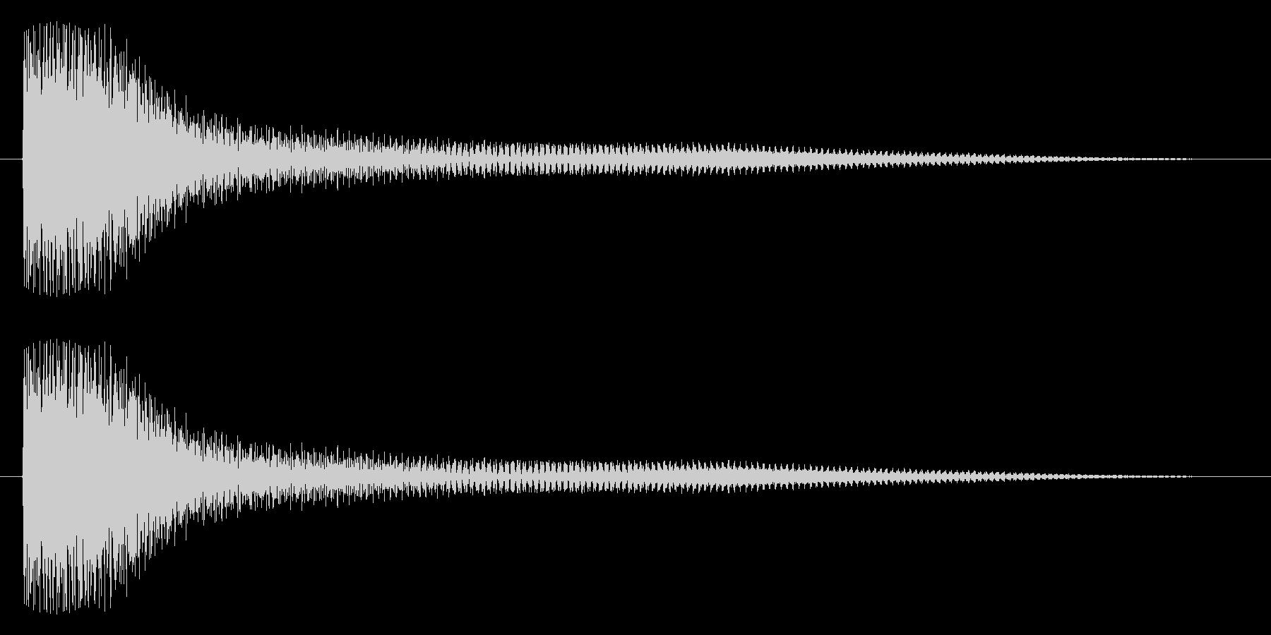 ドュワーン(鐘系)の未再生の波形