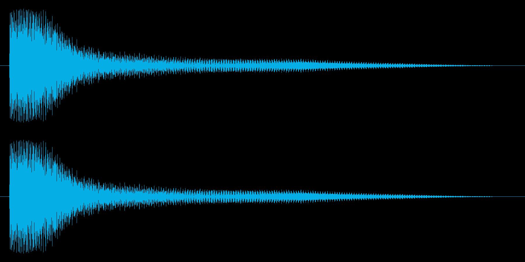 ドュワーン(鐘系)の再生済みの波形