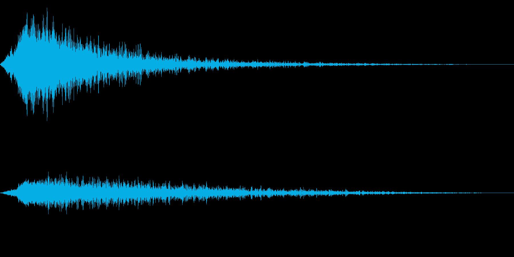 シャキーン!(強烈なインパクト、ロゴ等)の再生済みの波形
