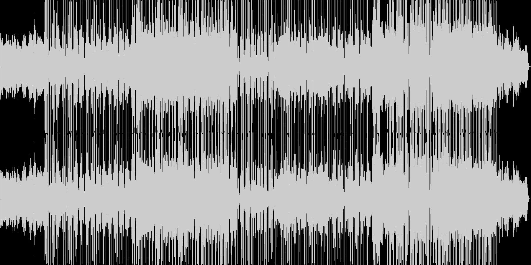 R&B風のシンセが印象的なポップバラードの未再生の波形