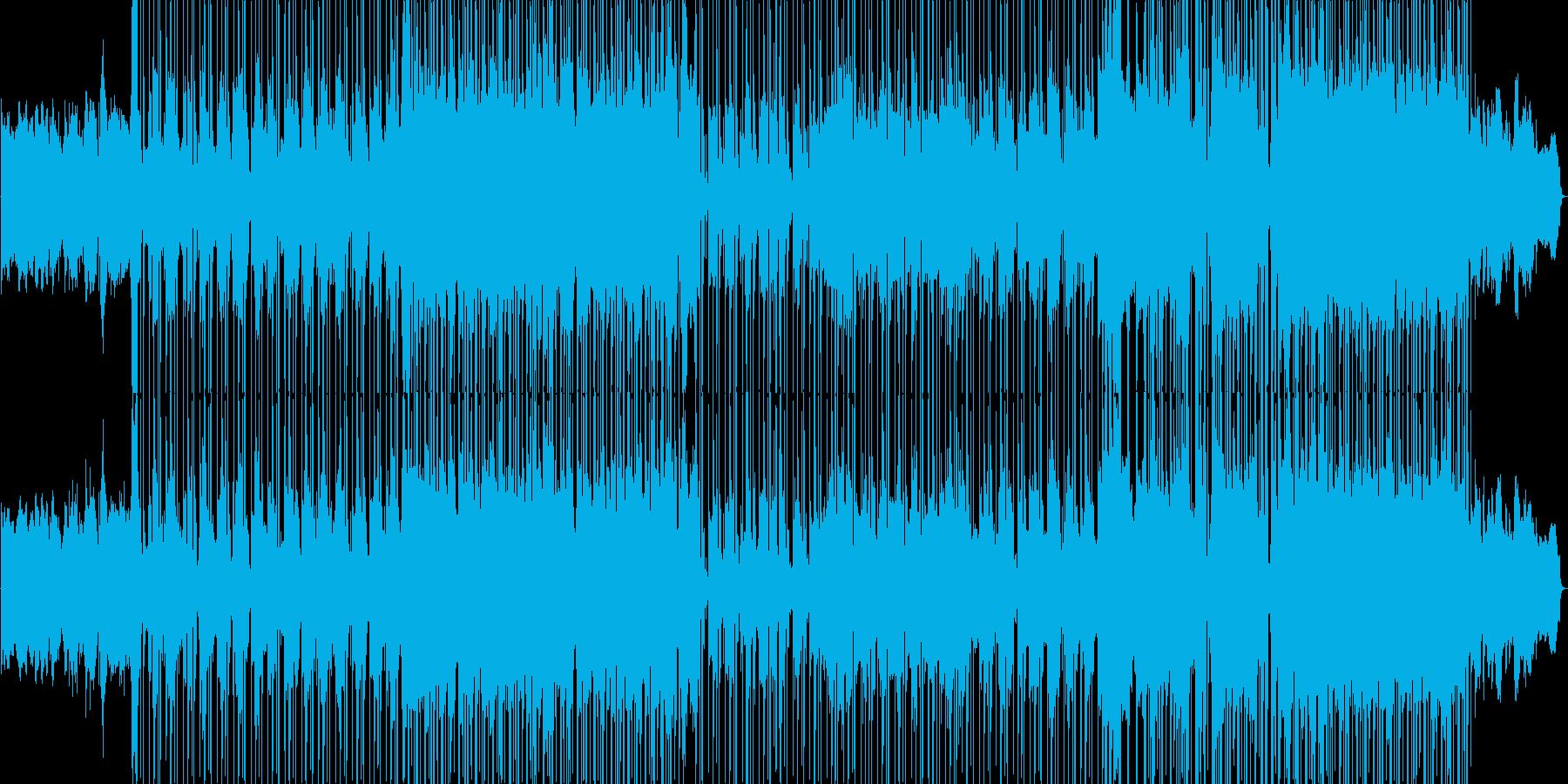 R&B風のシンセが印象的なポップバラードの再生済みの波形