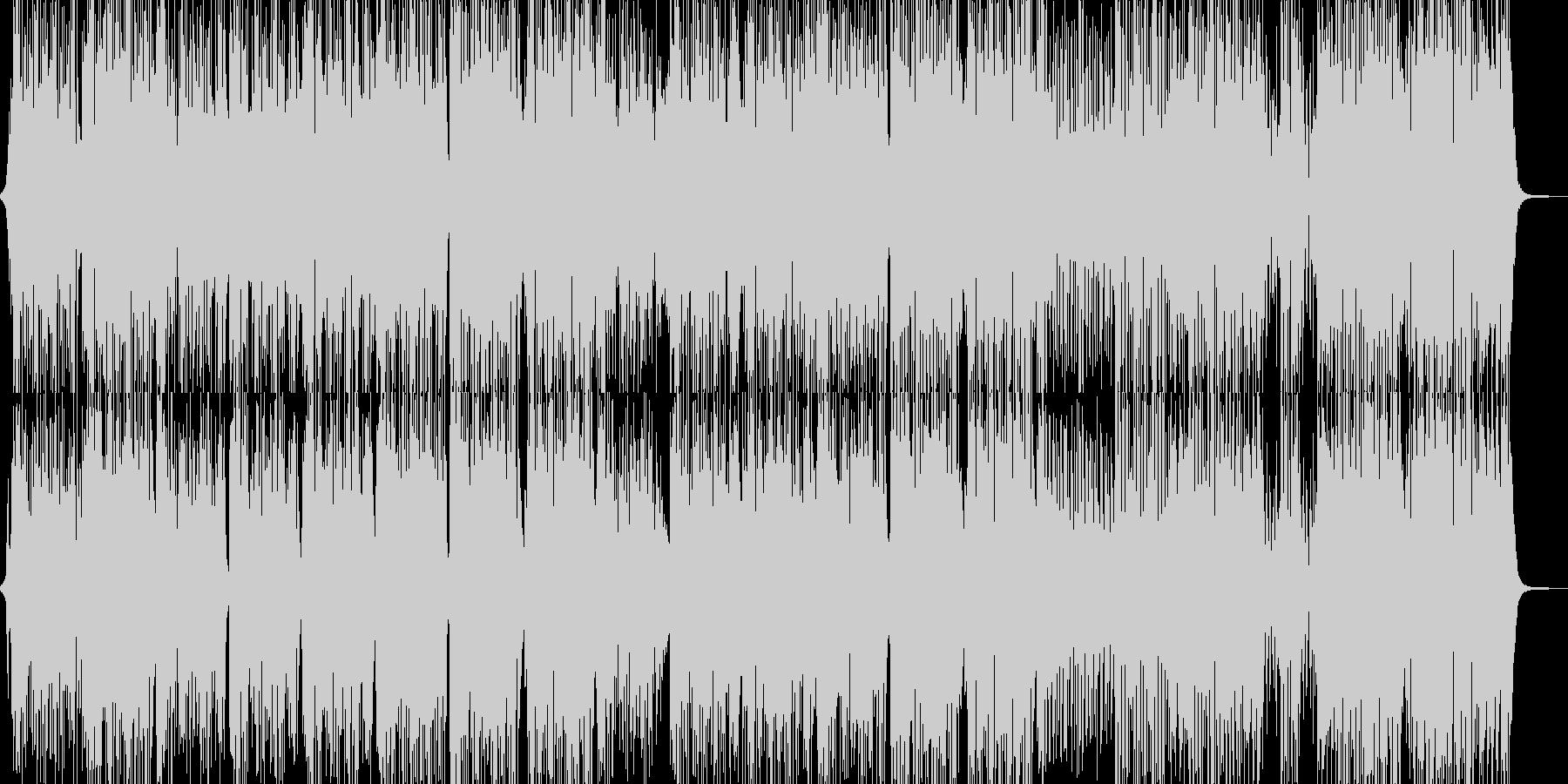 目立ちたがりのトランペッターのR&Bの未再生の波形