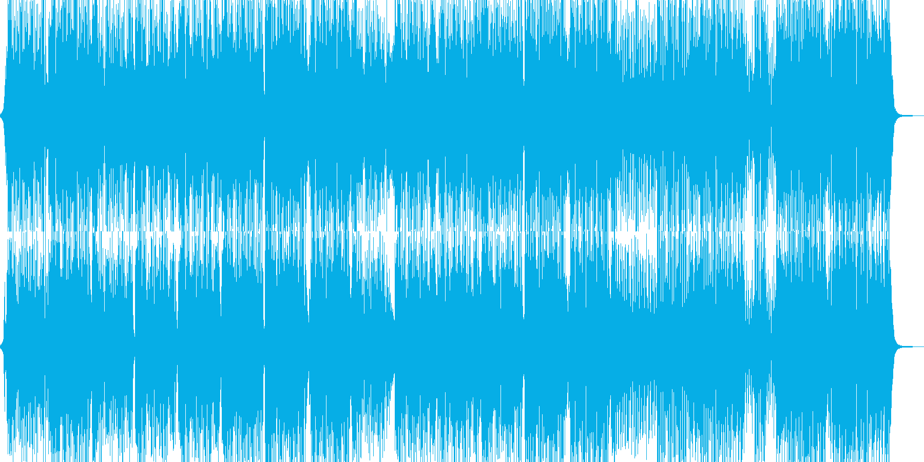 目立ちたがりのトランペッターのR&Bの再生済みの波形