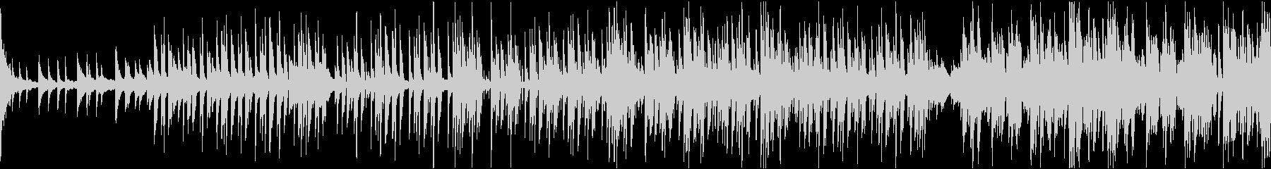 幻想的な電子音(フューチャーベース)の未再生の波形