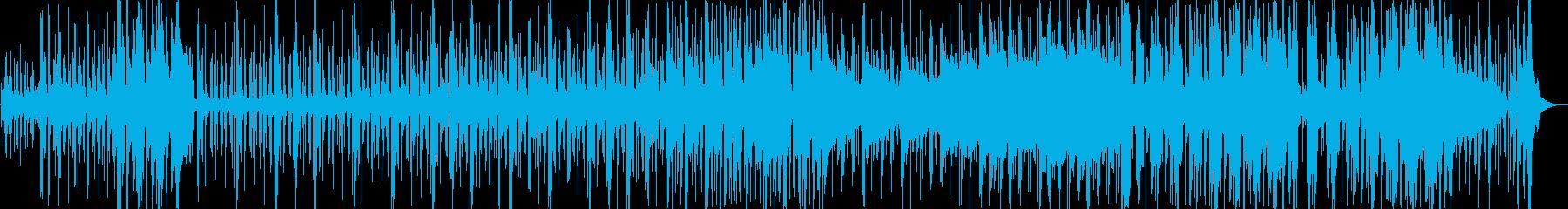琴で春を迎えるポップで横ノリなループ曲の再生済みの波形