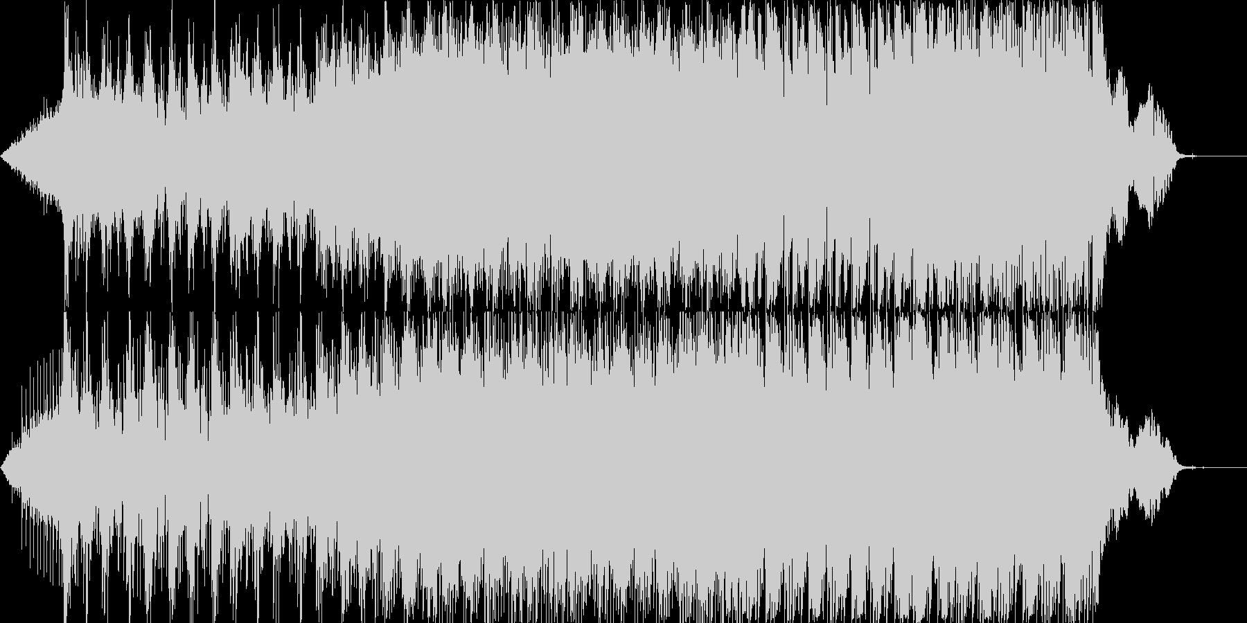 【殺陣音楽】迫力のある時代劇の戦闘シーンの未再生の波形