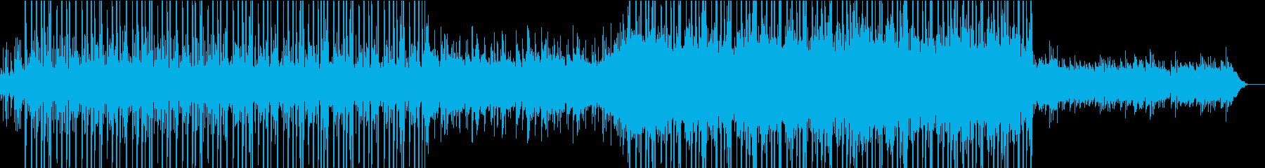 AppleのCMに使われていそうな曲の再生済みの波形
