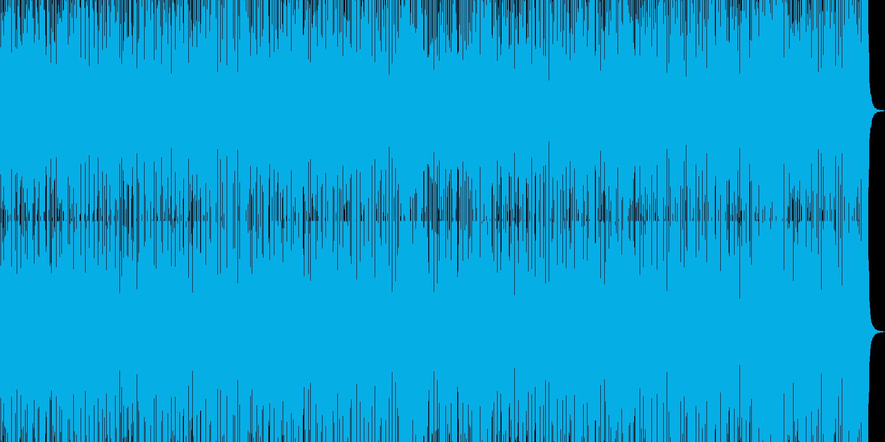ギター ベース ドラム AORインストの再生済みの波形