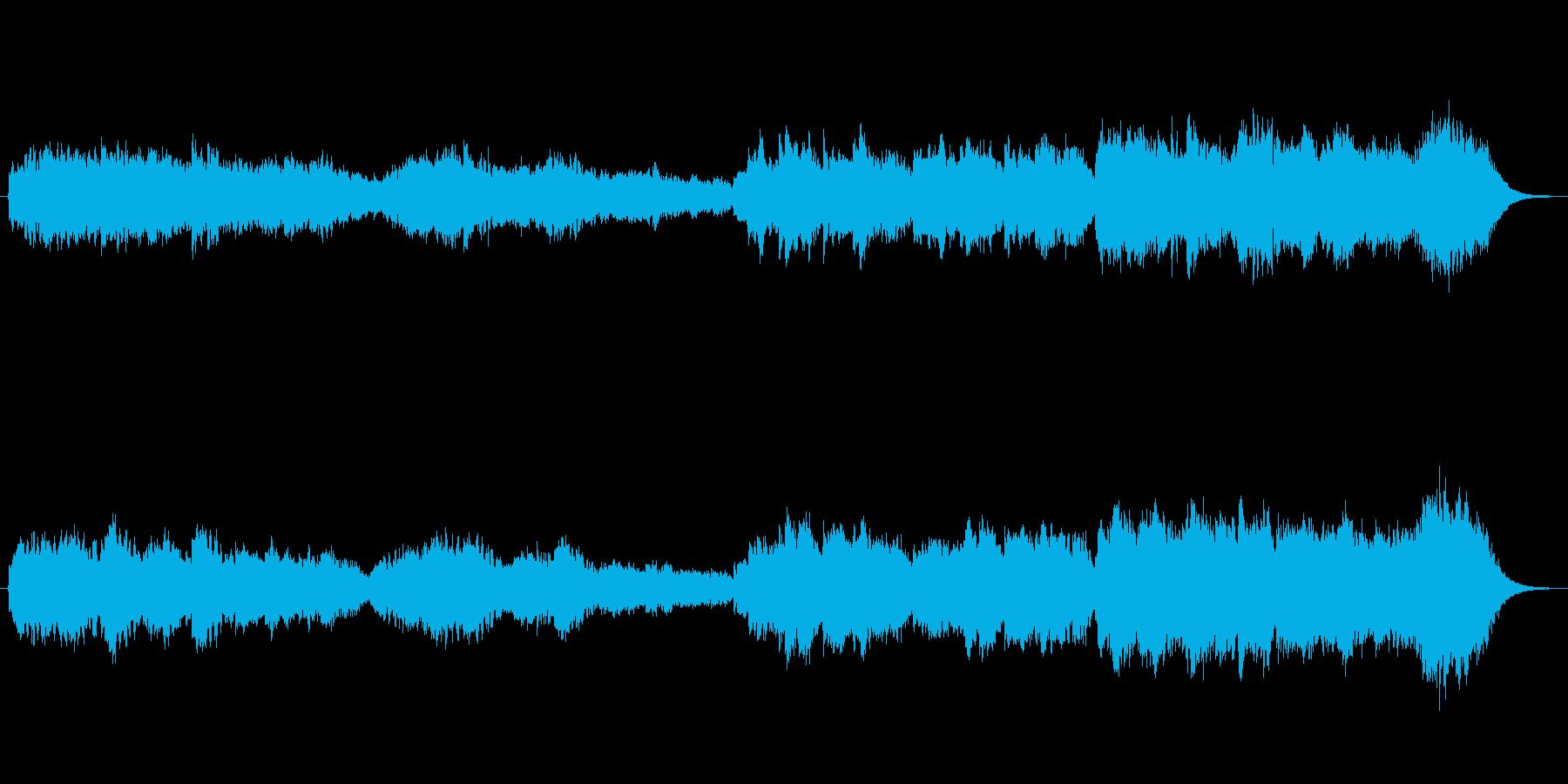 ファンタジーゲーム系の森の中をさまよっ…の再生済みの波形