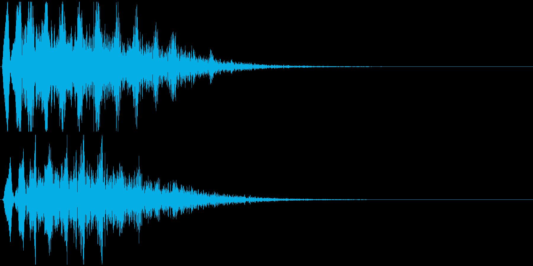 低音版のその2ですの再生済みの波形