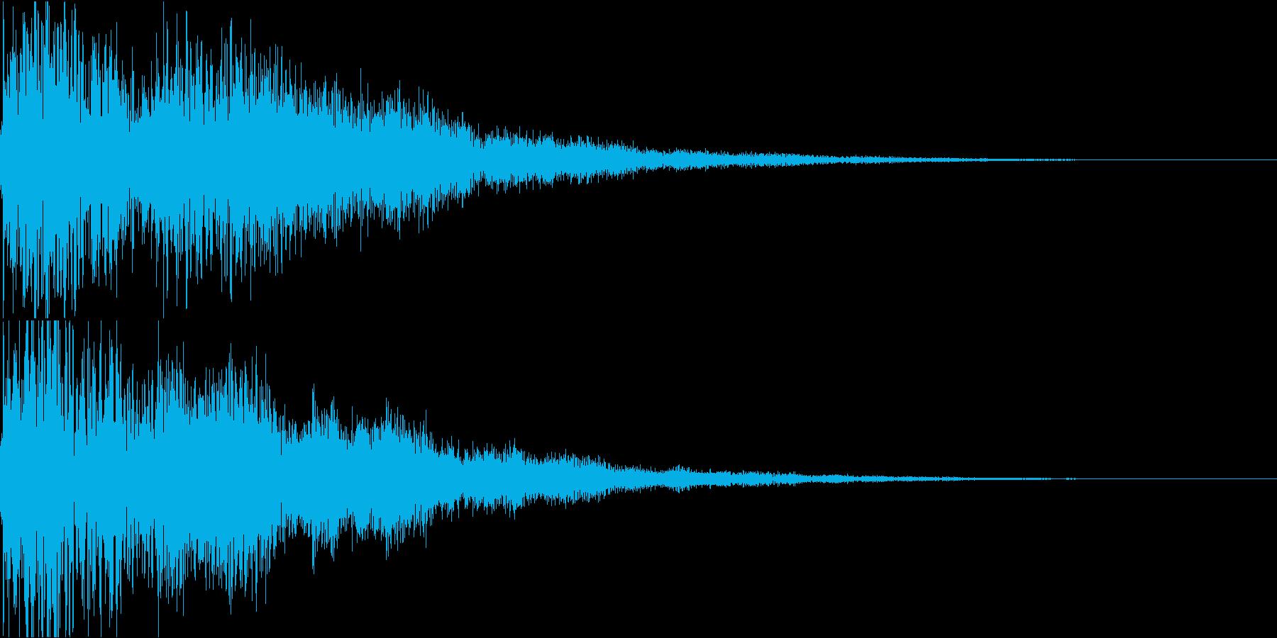 琴と太鼓の和風インパクトジングル! 03の再生済みの波形
