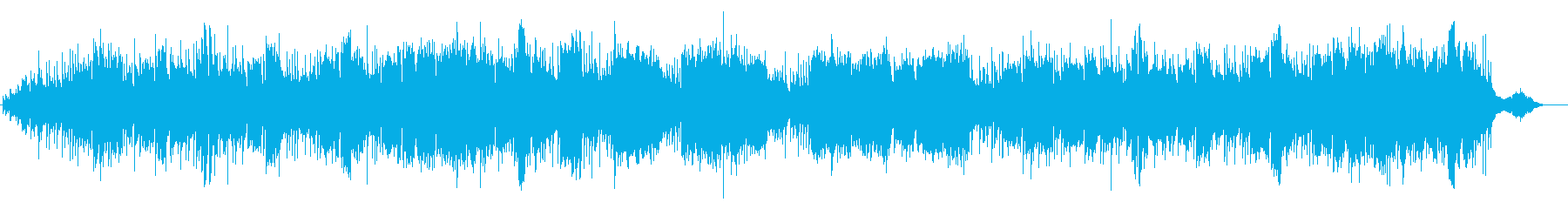 アイルランド民謡の再生済みの波形