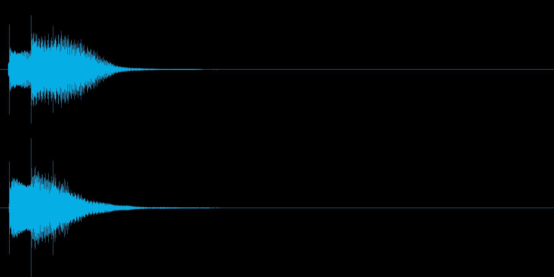 アラーム音01 グロッケン(sus4)の再生済みの波形