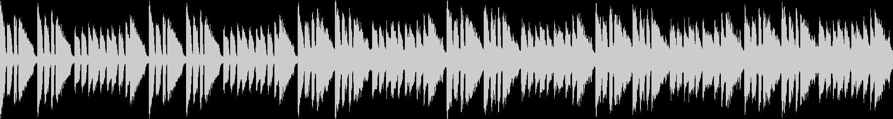 初めての挑戦みたいな曲(ループ仕様)の未再生の波形