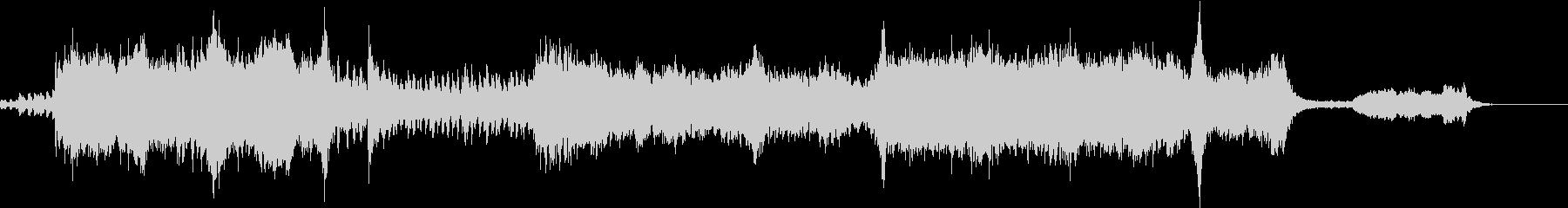 ファンタジー系オーケストラ オープニングの未再生の波形