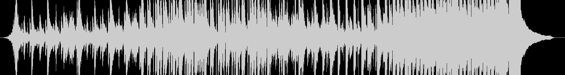 緊張感のある和風EDMの未再生の波形