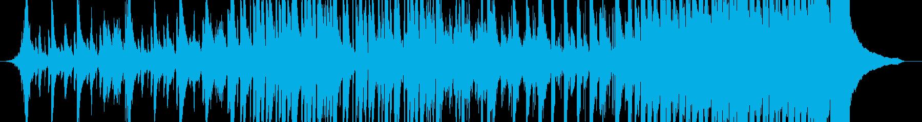 緊張感のある和風EDMの再生済みの波形