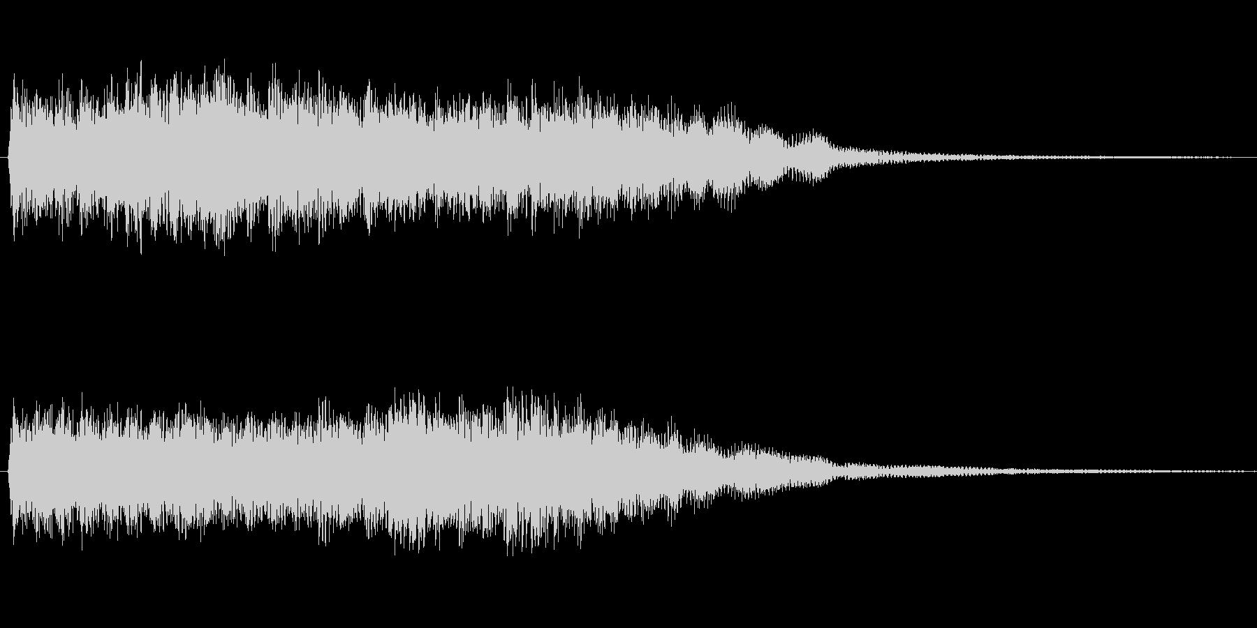 摩擦音や鳴き声等多用途に使える効果音ですの未再生の波形