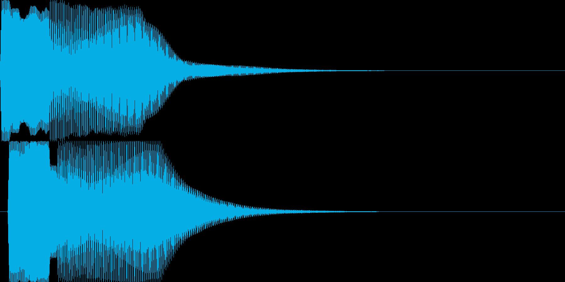 汎用キャンセルボタン - 3の再生済みの波形