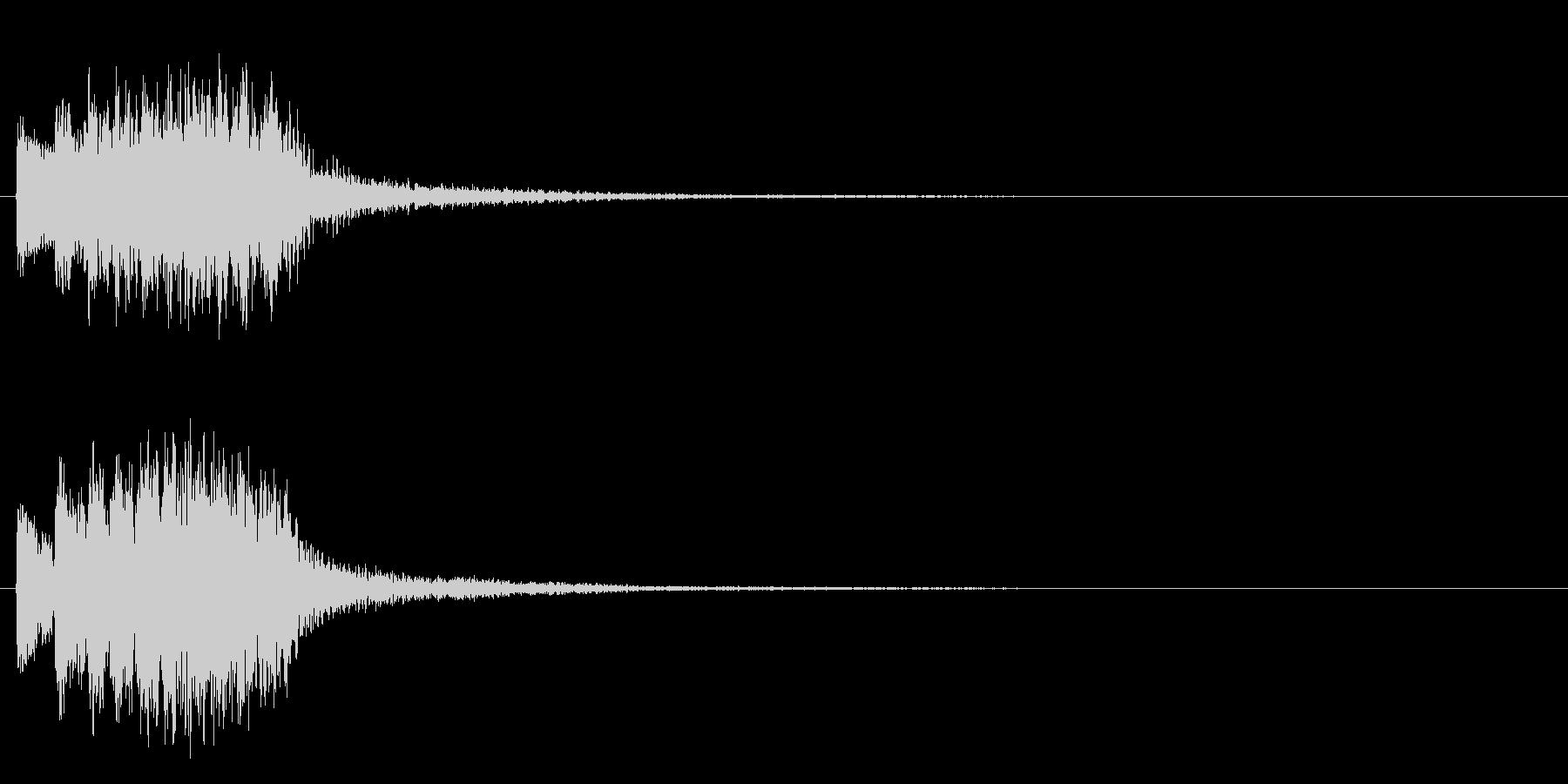 トゥルルルルリンの未再生の波形