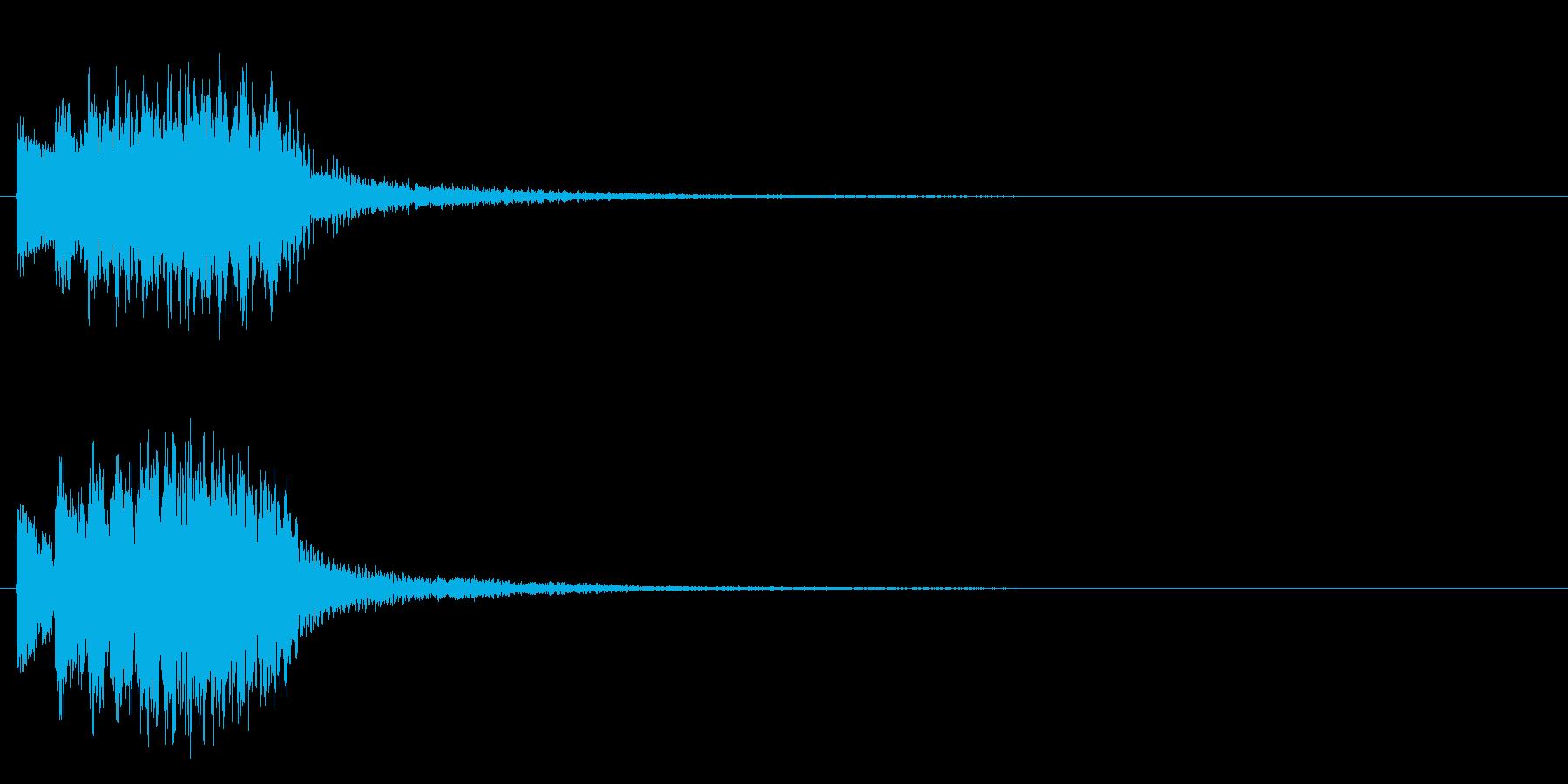 トゥルルルルリンの再生済みの波形