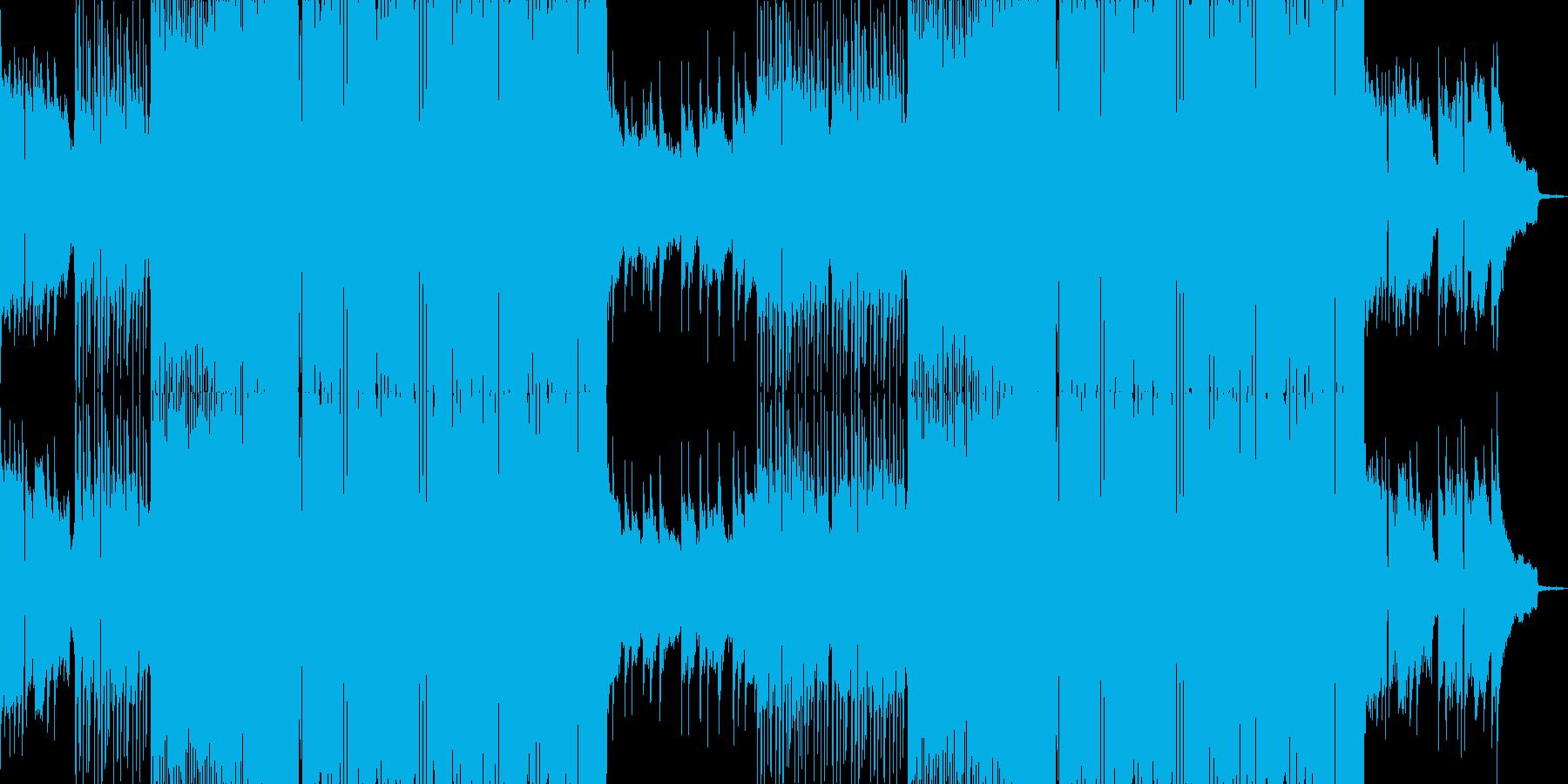 しっとりピアノ系フューチャーベースの再生済みの波形