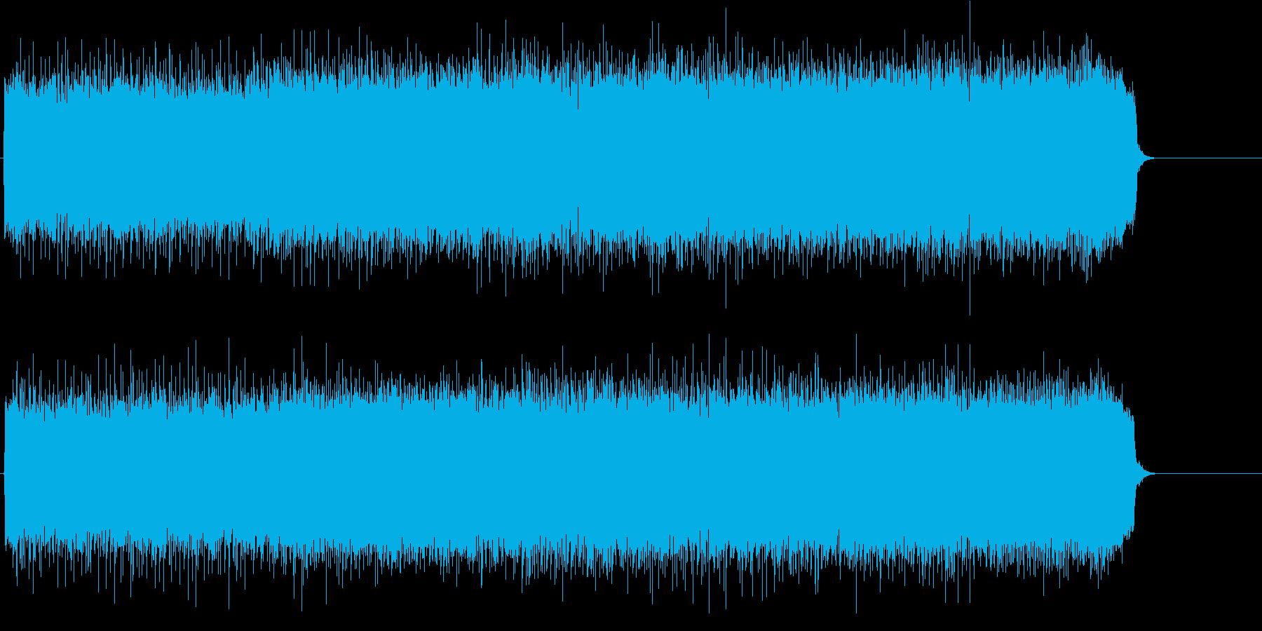 疾走感溢れるマイナー・ヘヴィ・ロックの再生済みの波形