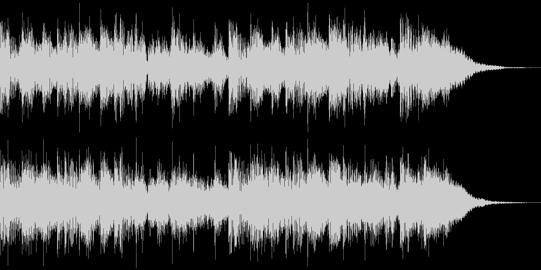 機械音で作ったSFチックなジングルです。の未再生の波形