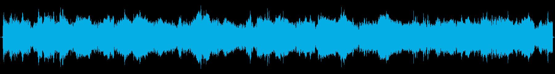 サイレン(電子音 低)救急車 外国 海外の再生済みの波形